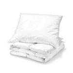 Bettenset 2-teilig Kopfkissen 80x80 cm & Bettdecke 135x200 cm | Ganzjahreswärme