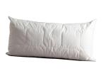 Thinsulate 150033685 Kopfkissen, Premium 40 x 80 cm mit einem weichen Baumwollbezug in weiß bezogen