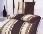 Baumwoll-Bettwäsche Soft Touch 1x Bettbezug 135x200 cm + 1x Kissenbezug 80x80 cm